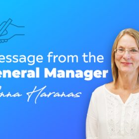 Message from the General Manager (3 September 2021)