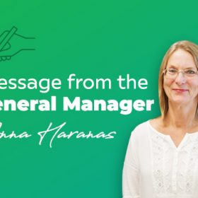 Message from the General Manager (22 August 2021)